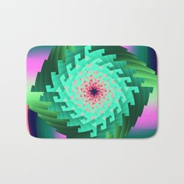 Abstract in Motion Bath Mat