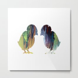 Chicks Metal Print