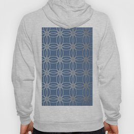 Simply Vintage Link in White Gold Sands and Aegean Blue Hoody