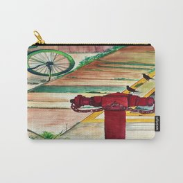 By the road side Carry-All Pouch