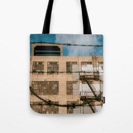 Historic Lawrence Warehouse Tote Bag