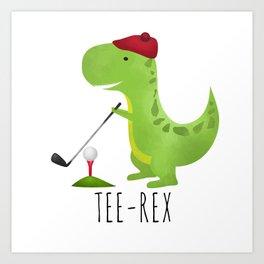 Tee-Rex Art Print