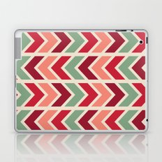 zig zag (red) Laptop & iPad Skin