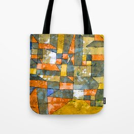 Paul Klee North German City Tote Bag