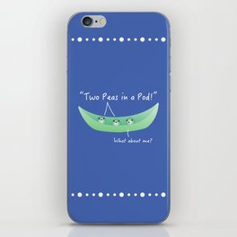 Two Peas in a Pod iPhone Skin