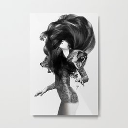 Bear #3 Metal Print