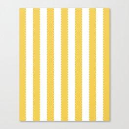 PRIMROSE YELLOW STRIPES Canvas Print