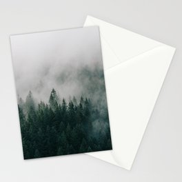 forest mist Stationery Cards