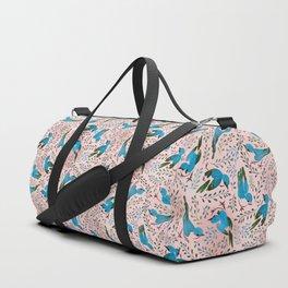 Birds in Spring Duffle Bag