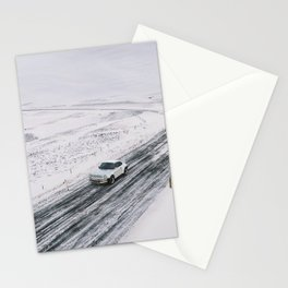 Safari in Snow 1 Stationery Cards