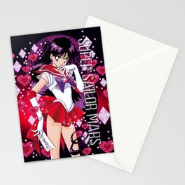 Super Sailor Mars Stationery Cards
