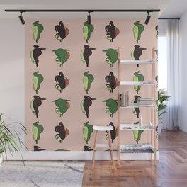 Handstand Avocado Wall Mural