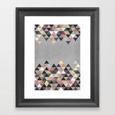Nordic Combination 14 Framed Art Print