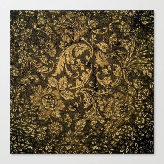 Decorative damask Canvas Print
