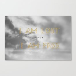 Lost and Free Canvas Print
