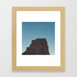 Moon Worshiper Framed Art Print