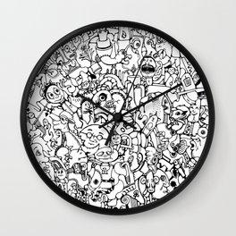 Circle Of Everything Wall Clock