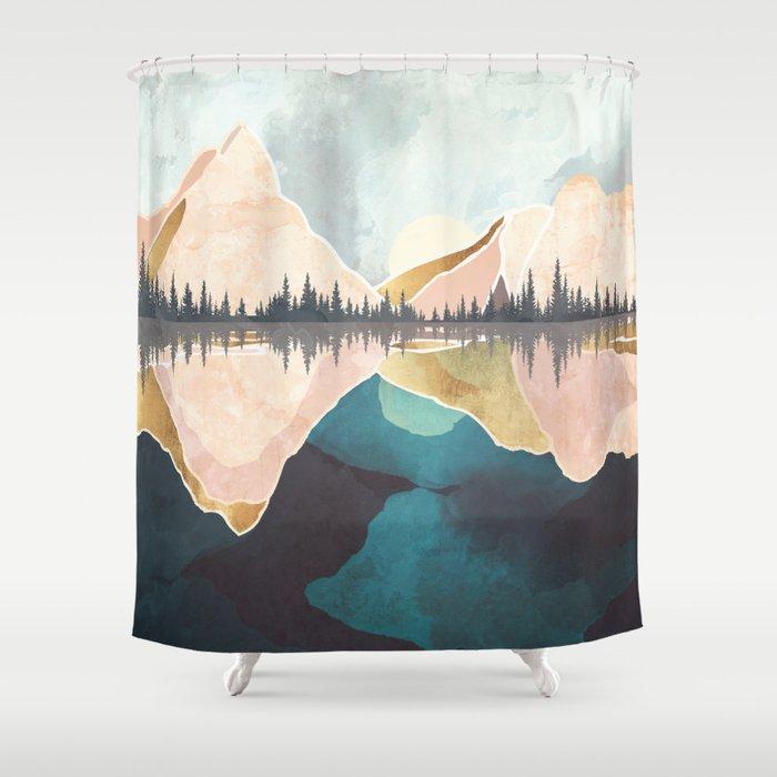 Summer Reflection Shower Curtain