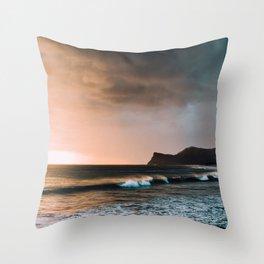 Moody Sunset, Nicaragua Throw Pillow
