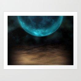 Planetary Visions Art Print