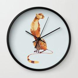 Cheetah 1 Wall Clock