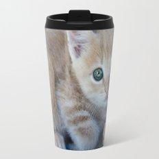 Red Kitten Travel Mug