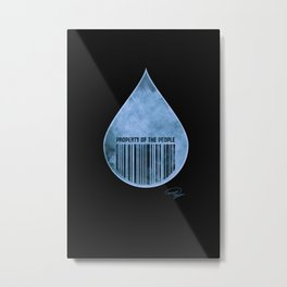 Water : Property of the People 2 Metal Print