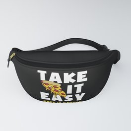 Cheese Pizza Quote Fanny Pack
