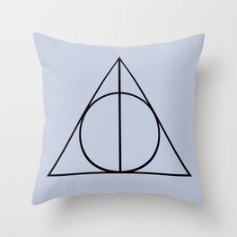 The Three Brothers Throw Pillow
