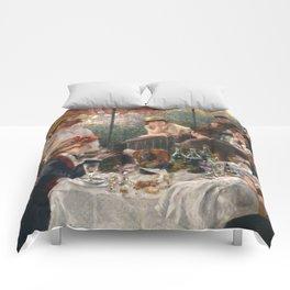 Auguste Renoir - Luncheon of the Boating Party (Le déjeuner des canotiers) Comforters