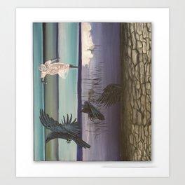 Free Fall II Art Print
