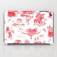 montreal iPad Cases featuring Montreal Scenic by Audrey Fortin