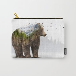 Wild I Shall Stay | Bear Carry-All Pouch