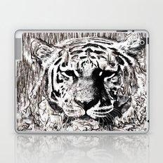 Tiger BW Laptop & iPad Skin