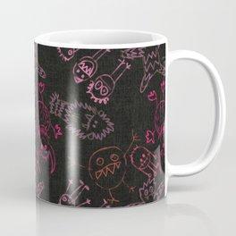Neon Monsters Coffee Mug