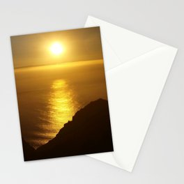 Sunset over the Canary Islands Stationery Cards