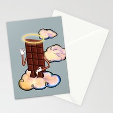 May Chocolate lord bless you! Stationery Cards