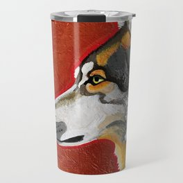 Wolf and Copper Travel Mug