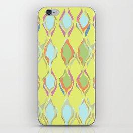 Pastel patterned iPhone Skin