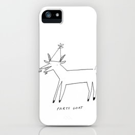 Party Goat iPhone Case