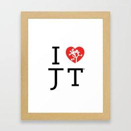 I love Joshua Tree by CREYES Framed Art Print