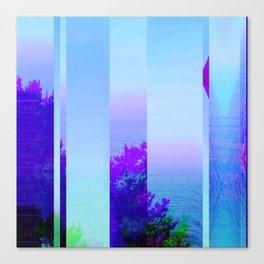 Lucid Waves Canvas Print