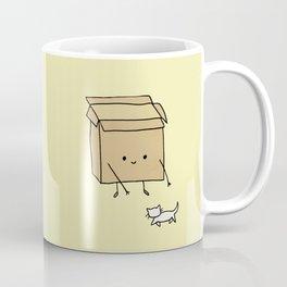 Boxes love cats Coffee Mug
