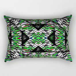 trigrid Rectangular Pillow