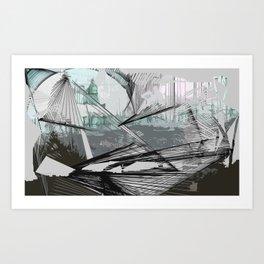Ray Art Print
