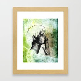 Speak No Evil Framed Art Print