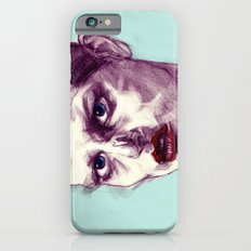 Scary Dirty Face with Red Lips Slim Case iPhone 6s