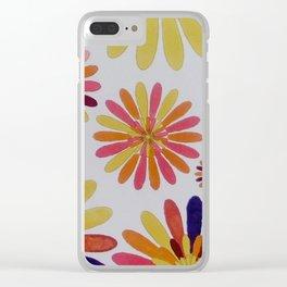 A garden in Cuenca Ecuador Clear iPhone Case