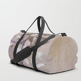 Vintage Spring flowers Duffle Bag