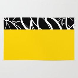 Yellow Zebra Rug